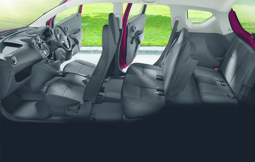 the 7 seater datsun go now available at cmh datsun pinetown. Black Bedroom Furniture Sets. Home Design Ideas