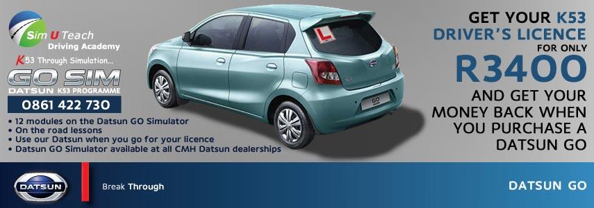 Datsun GO Driving Simulator